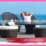 outdoor furniture high back rattan sofa set
