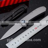 "4.92"" Folding Pocket Knife with Reversible pocket clip SpeedSafe assisted open Frame lock"
