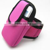 Neoprene Sport Personalized Smartphone Mobile Phone Armband Pouch Bag