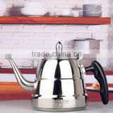 Non-electric stainless steel 304 induction tea pot coffee water tea steel kettle