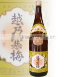 Hot-selling and Natural sake koshinokanbai tokusen 1800ml with Flavorful made in Japan