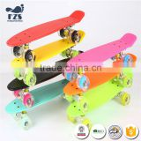 HSJ212 Custom Hot selling Plastic PP skateboard