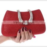 R0025H Elegant wedding clutch bag,diamond evening bag