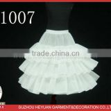 P1007 Beautiful Crinoline Petticoat for Wedding Dress Design Kids