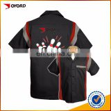 100% mesh polyester quick dry wholesale bowling shirts