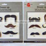 Assorted Dressing Up Fancy Dress Fake Beard Moustache Stag Party Self Adhesive MH2204