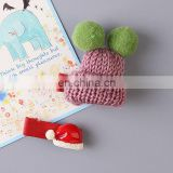 Christmas baby party headwear gift new christmas children stereoscopic hat fancy hair clips