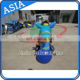 Blue pony hops / giant ear juming horse / inflatable hops for kids