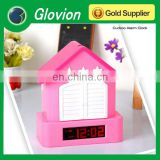 Top quality cute bird alarm clock Novelty LED Digital Shooting Target Laser Alarm Clock digital alarm clock