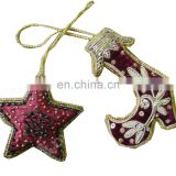 Christmas hanging ornaments ball & shoes