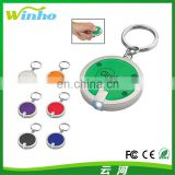 Winho customizable fashion circular led keychain