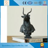 Goats Bust Home Decoration Resin Crafts