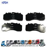 Heavy Duty European Tractor Brake System Brake Disc Truck Kinds of Brake Pads WVA29087 WVA29162