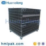 Industry china manufacturer collapsible pet preform foldable wire mesh container