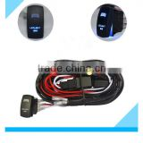 Custom HID Light Bar Auto Wiring Harness Led Light Switch Relay Kit                                                                         Quality Choice