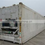 China supplier	20ft/40ft HC HQ	used	reefer container	best quality competitive price	for sale in Liaoning