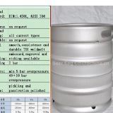 I'm very interested in the message 'beer keg Euro 50L' on the China Supplier