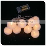 decorative hair ball christmas lights factory wholesale