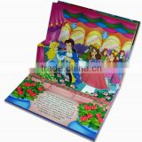 Custom cheap flip china hardcover child pop up book printing