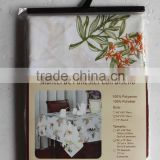 1PC Polyester Fancy Customized Printed Table Cloth for Home                                                                         Quality Choice
