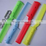 aliexpress low price hair barber razor comb for hair extension