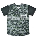 New trendy custom retro blank camo baseball jersey                                                                                                         Supplier's Choice