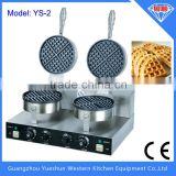2015 Hot selling double plates commercial electric egg waffle maker