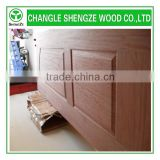 2015 China wholesale decorative wood veneer MDF door skin panels
