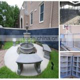 Blue Pearl Granite Columbarium