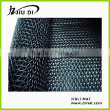 "Anti-slip Black Color PVC ""S"" Type Mat, Home Mat, Swimming Pool , Stadium and Gym Mat"