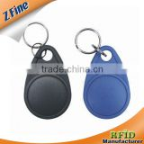 Hospital Access Control LF/HF Micro Smart 13.56 RFID Tags & Key Fobs With Sealed RFID Chip
