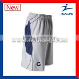 custom 100% polyester mesh fabric wholesale lacrosse shorts/ lacrosse manufacturer with best price