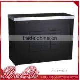 beauty salon furniture China factory salon equipment check out counter receiption cash counter for barber shop