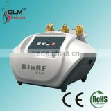 Portable blue rf skin lifting/2015 RF vacuum slimming cellulite radio frequency therapy machine