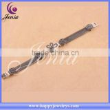 Top quality thai silver women bracelet natural white shell stone bead bracelet ( 0674S1)