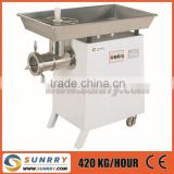 42 meat grinder capacity 650kg/h meat grinder price for CE cooks meat grinder (SY-TC42 SUNRRY)                                                                         Quality Choice