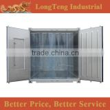 Customized 20ft 40ft reefer container with PVC curtain strip and escape door                                                                                                         Supplier's Choice