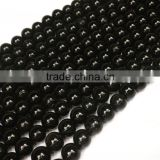 Wholesale Natural Black Tourmaline round beads 4-10 mm gemstone loose beads