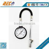 (YTS-50A) 50mm high quality strict standard long assurance rubber hose type tire inflator with gauge
