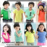 New Wholesale Blank Baby Clothes Baby Children Boys Girls T shirts Unisex Clothing Baby Tops