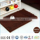 NEW XM86001 Factory Direct Wholesale Simple Modern Microfibre Bath Mat / Chenille mat-QINYI
