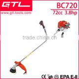 72cc new model intensive use big power gasoline brush cutter BC720                                                                         Quality Choice
