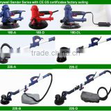 710W 5FT Adjustable Variable Speed Electric Drywall Sander 6PCS Sand Paper 110V 220V factory selling