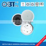 pa commercial audio loudspeaker 30w, 6inch pa background music system ceiling speaker full range