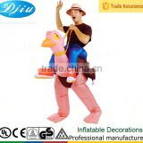 DJ-CO-142 INFLATABLE OSTRICH funny humor adult mens womens animal halloween costume                                                                         Quality Choice