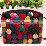 wholesale Handmade Stylish Coconut Shell Bag handbag