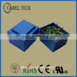 CE, ROHS approved 12V ac dc transformer, PCB mounted, with the same footprint as EI30 transformers