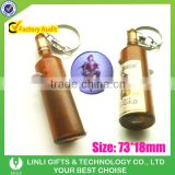 Beer Promotion Led Logo Projector Bottle Torch, Projector Bottle Flashlight, Projector Bottle Key chains
