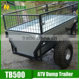galvanized cargo box strong box utility trailer