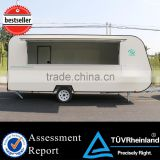 2015 hot sales best quality refrigerated trailer fruit food trailer for sale catering trailer